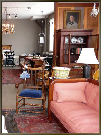 Antiques in the New Space